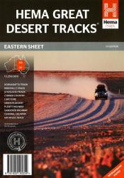 Australia, Eastern, Great Desert Tracks, 7th edition by Hema Maps