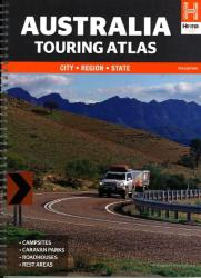 Australia, Touring Atlas, 11th edition by Hema Maps