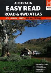 Australia, Easy Read Road and 4WD Atlas, 11th edition by Hema Maps