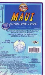 Maui, Hawaii, Guide Map Things to See and Do by Frankos Maps Ltd.