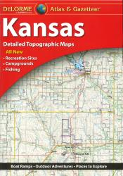 Kansas, Atlas and Gazetteer by DeLorme