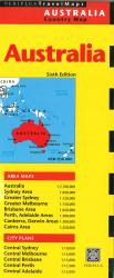 Australia Country Map by Periplus Editions