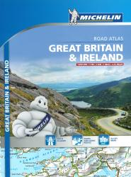Great Britain & Ireland, Touring and Road Atlas (122) by Michelin Maps and Guides