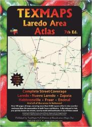 Laredo, Texas Area Atlas by Texmaps