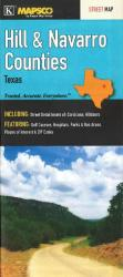 Hill and Navarro Counties, Texas by Kappa Map Group