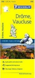 Drome/Vaucluse (332) by Michelin Maps and Guides