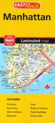 Manhattan Fast Track, Laminated Map by MapArt Corporation