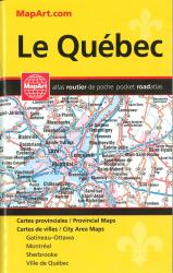 Quebec, Pocket Road Atlas by Canadian Cartographics Corporation