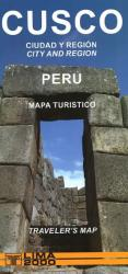 Cusco, Peru, Tourist/Traveler's Map by