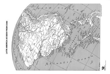 """Latin America as Seen from Cuba - 11"""" x 16"""" paper by ODT, Inc."""