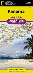 Panama Adventure Map by National Geographic Maps