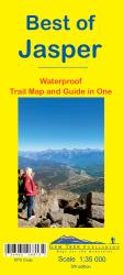 Best of Jasper, Waterproof Trail Map and Guide in One by Gem Trek