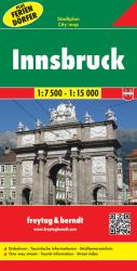 Innsbruck, Austria, with Holiday Villages by Freytag, Berndt und Artaria