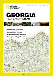 Georgia Recreation Atlas by National Geographic Maps