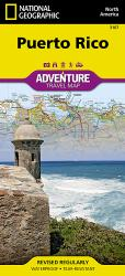 Puerto Rico Adventure Map 3107 by National Geographic Maps