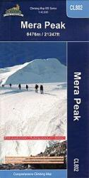 Mera Peak Climbing Map by Himalayan MapHouse Pvt. Ltd