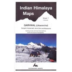 Indian Himalaya, Jammu & Kashmir sheet 7 - Garhwal, Gangotri, Mussourie by West Col Productions