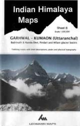 Indian Himalaya sheet 8 - Garhwal, Kumaon, Badrinath, Nanda Devi by West Col Productions