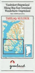 Tasiilaq/Kulusuk Hiking Map by Compukort