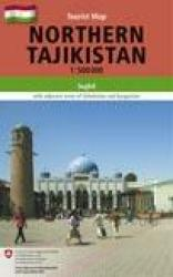 Northern Tajikistan Tourist Map by Gecko Maps