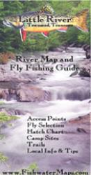 Little River TN River Map and Fly Fishing Guide by Fishwater Maps