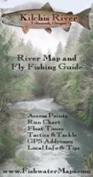 Kilchis River OR River Map and Fly Fishing Guide by Fishwater Maps