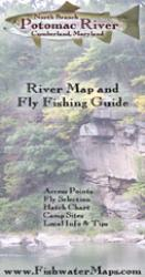 North Branch Potomac River MD River Map and Fly Fishing Guide by Fishwater Maps