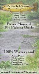 North River VA River Map and Fly Fishing Guide by Fishwater Maps