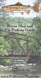 Whitetop Laurel VA River Map and Fly Fishing Guide by Fishwater Maps