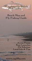 Wrightsville Beach NC River Map and Fly Fishing Guide by Fishwater Maps