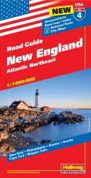 USA 4-New England and the Atlantic Northeast by Hallwag
