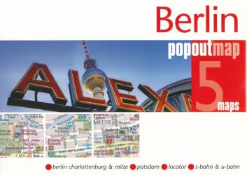 Berlin, Germany PopOut Map by PopOut Products
