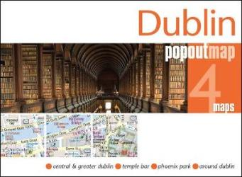 Dublin, Ireland, PopOut Map by PopOut Products