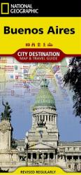 Buenos Aires, Argentina Destination Map and Guide by National Geographic Maps