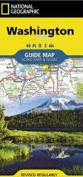 Washington State Guide Map by National Geographic Maps