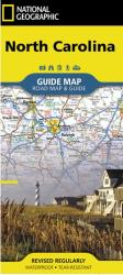 North Carolina GuideMap by National Geographic Maps