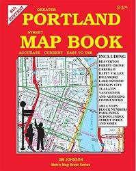 Greater Portland Street Map by GM Johnson