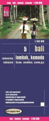 Bali, Lombok and Komodo, Indonesia (Map 5) by Reise Know-How Verlag