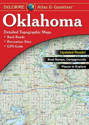 Oklahoma, Atlas and Gazetteer by DeLorme