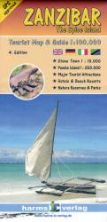 Zanzibar, The Spice Island, Tourist Map and Guide by Harms IC Verlag