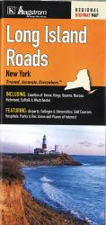 Long Island Roads, New York by Kappa Map Group