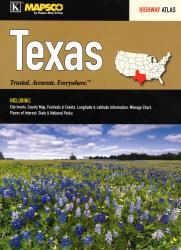 Texas Highway Atlas and Travel Planner by Kappa Map Group