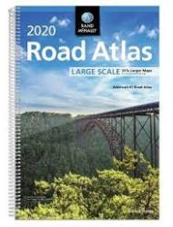 2020 Large Scale Road Atlas by Rand McNally