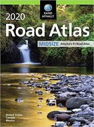 2020 Midsize Road Atlas by Rand McNally
