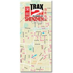 Shenzhen City Map by Trax2