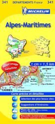Alpes-Maritimes Road Map by Michelin