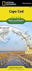 Cape Cod ,Coastal Recreation, Map 250 by National Geographic Maps