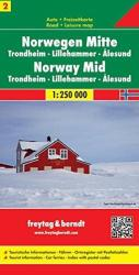 Norway, Central, Trondheim, Lillehammer and Alesund by Freytag, Berndt und Artaria