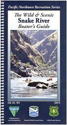 Snake River Boaters Map by United States Forest Service