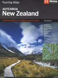 New Zealand, Touring Atlas, 5th edition by Hema Maps